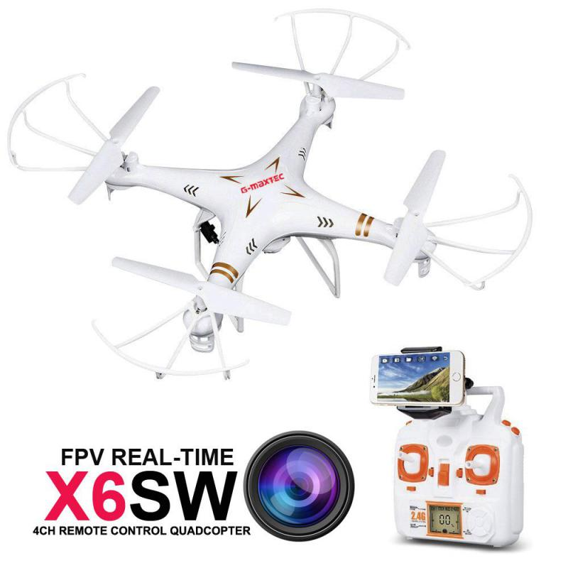 RC Drone Quadcopter X6SW With HD Camera Headless 6-Axis Wifi Real-Time Helicopter FPV Quadcopter VS Syma X5SW X705(China (Mainland))