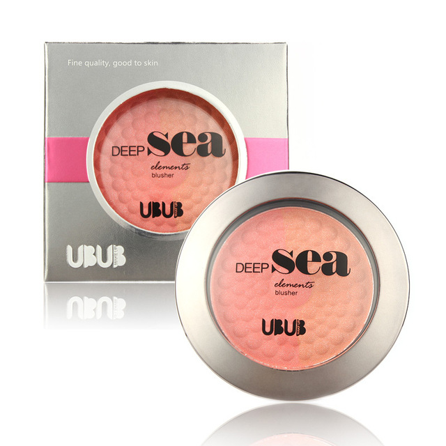 UBUB Brand Mineralize Blush Palette Hot Sale 8Colours Makeup Blush Natural Cosmetics Face Powder KJDUB002(China (Mainland))