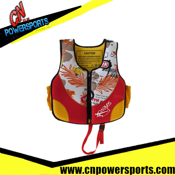 Floatation foam safety marine personalized inflatable life jacket(China (Mainland))