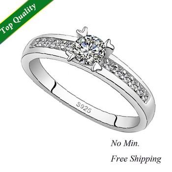Engagement Wedding Band Brand Nail Finger Ring for Women on Sale,Aneis de Diamante,Motociclista Anel de Prata Feminino Gift J411