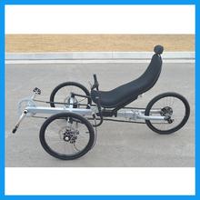 Chromoly 2 Front Wheel Adult Recumbent Trike(China (Mainland))