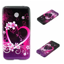 Newest Flower Soft TPU Plastic Phone Case Covers for Nokia Lumia 630 635 Drop shipping & Wholesales
