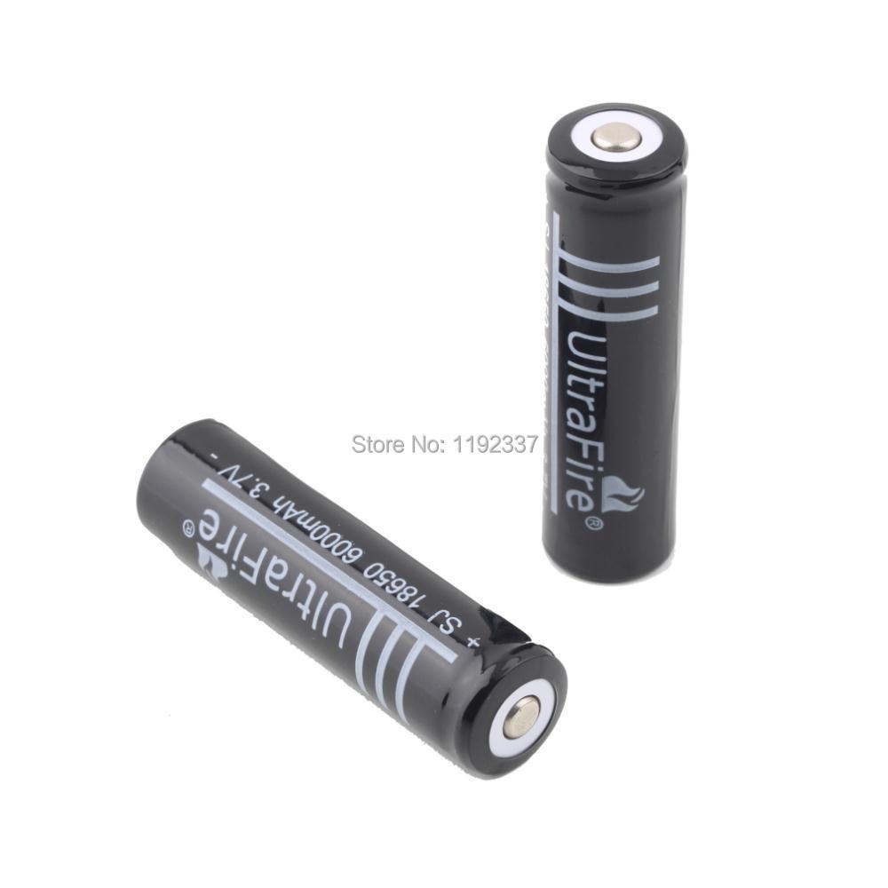 12pcs 6000mAh 18650 3 7V Li ion Rechargeable Battery for Flashlight Hot New 18650 battery free