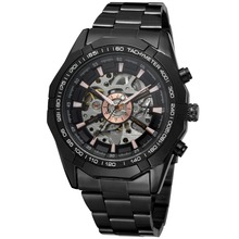 Forsining 2016 Luminous Clock Men Automatic Watch Skeleton Military Watch Mechanical Relogio Male Montre Homme Watch Mens clock(China (Mainland))