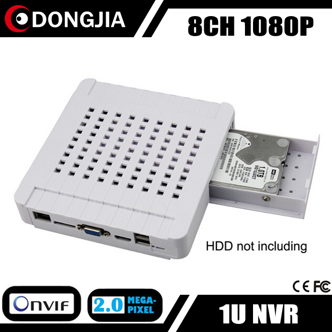 DONGJIA DJ-3008M camera ip p2p 8ch 1080p mini nvr network video recorder cctv security system dvr recorder 8 ch channel in home(China (Mainland))