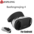 Hot Baofeng Mojing 4 Generation VR Virtual Reality 3D Glasses For Android Version Game Helmet Headset