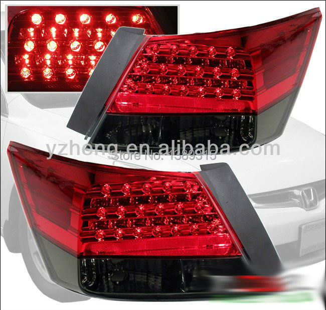 Factory outlet Hond accorda 2008 -2013 LED modified rear/tail light New model(China (Mainland))
