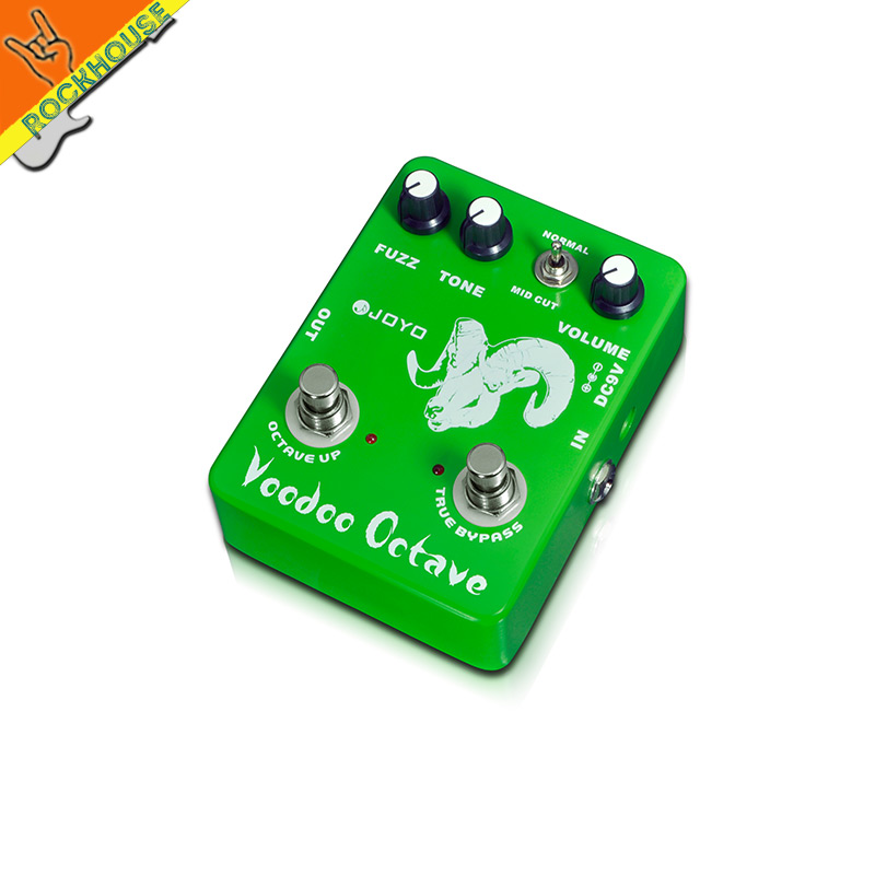 JOYO JF-12 Voodoo Octave classic guitar effect pedal with fuzz rock metallic <br><br>Aliexpress