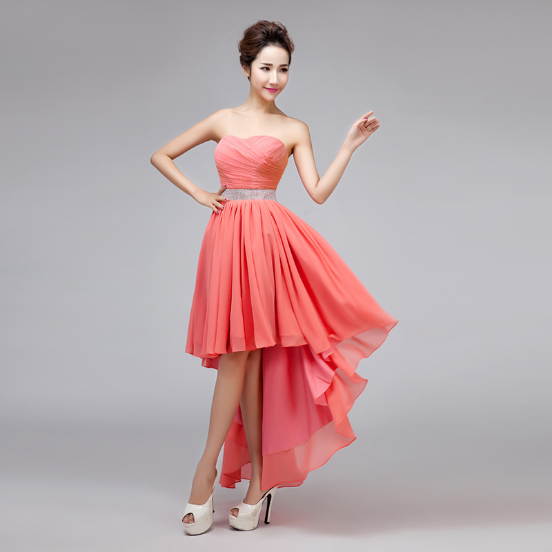 Online Get Cheap Coral High Low Dress -Aliexpress.com | Alibaba Group