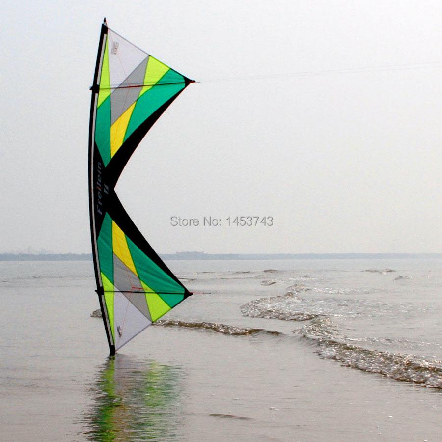 "RTF Set of New Standard Design From Freilein Stunt Kite Quad Line Sport Kite + Flying Line 13"" + 2Pcs Handles(China (Mainland))"