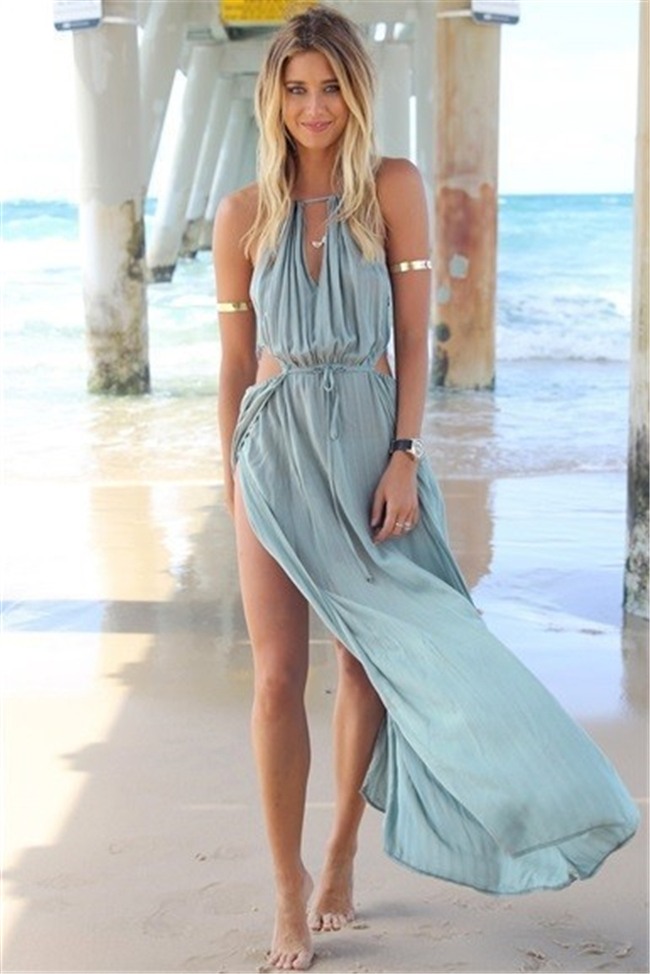 2015 Hot Fashion Sexy Women S Summer Boho Long Maxi Dress