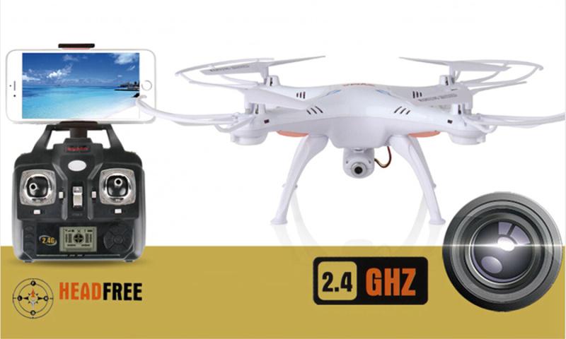 Fee Shipping! Syma X5SW Explorers-II FPV 2.4G 50M RC Drone Quadcopter 2.0MP Wifi Cam +2 Motors