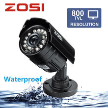 Buy ZOSI 1/3 Color CMOS 800TVL Bullet Mini CCTV Camera HD Outdoor Black 24 IR Leds Day/Night Security Home Video Surveillance Camera for $13.85 in AliExpress store