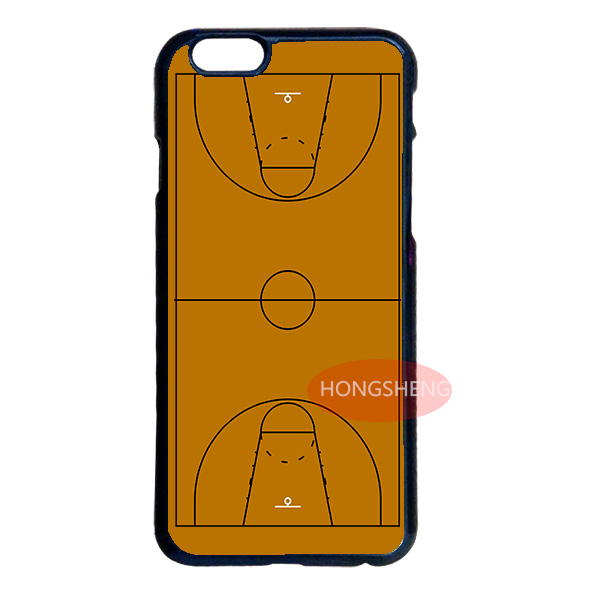 Basketball Field Court Case Cover for LG iPod 4 5 6 Samsung Note 2 3 4 5 S2 S3 S4 S5 Mini S6 Edge Plus iPhone 4S 5S 5C 6 6S Plus(China (Mainland))