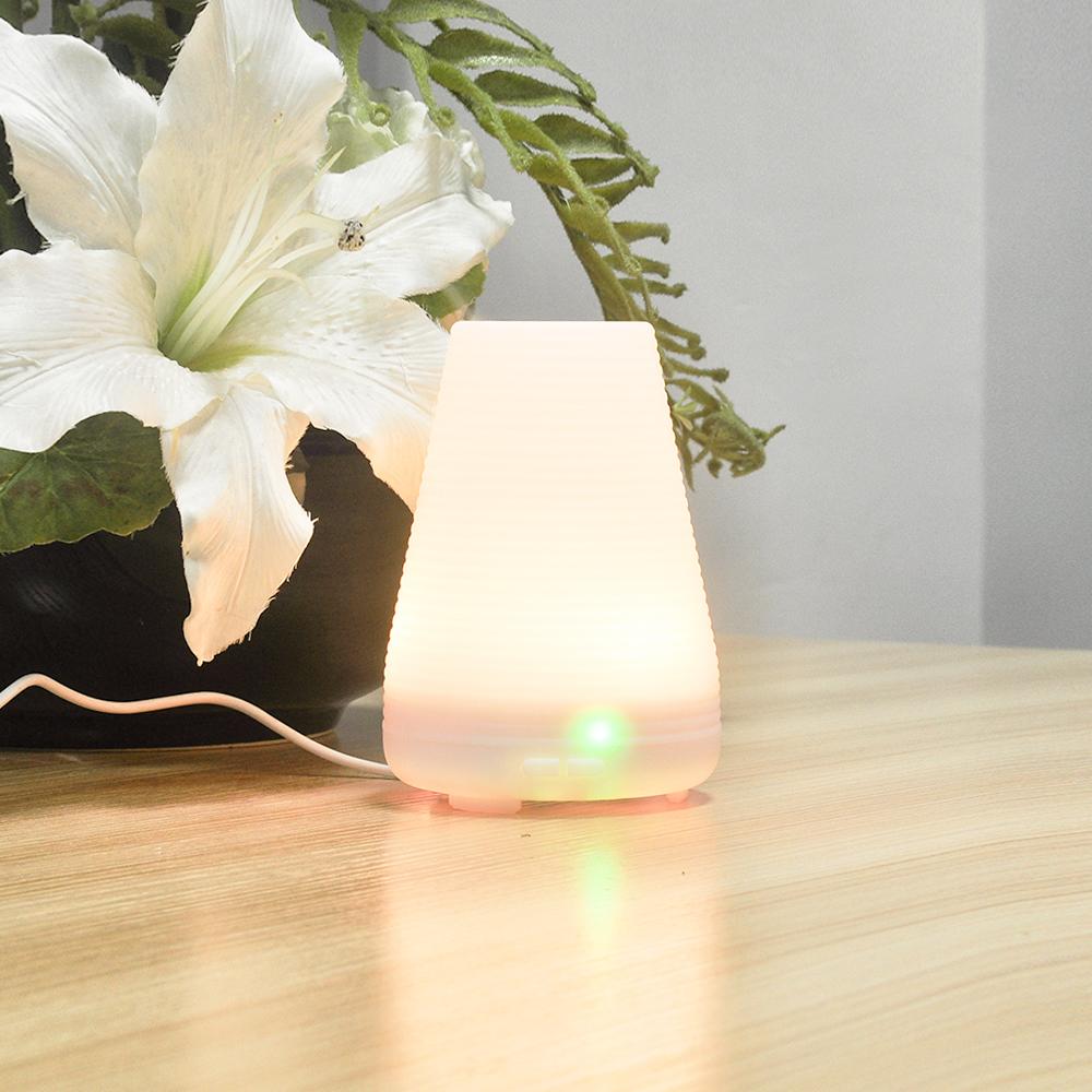 Sensky 100мл 3 в 1 светодиодный ночник с USB эфирное масло Ультразвуковая сухой защиты увлажнитель воздуха Арома диффузор ароматерапия BS009