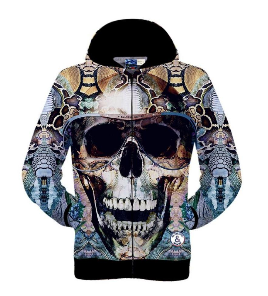 aliexpress buy 2015 winter s 3d skull element