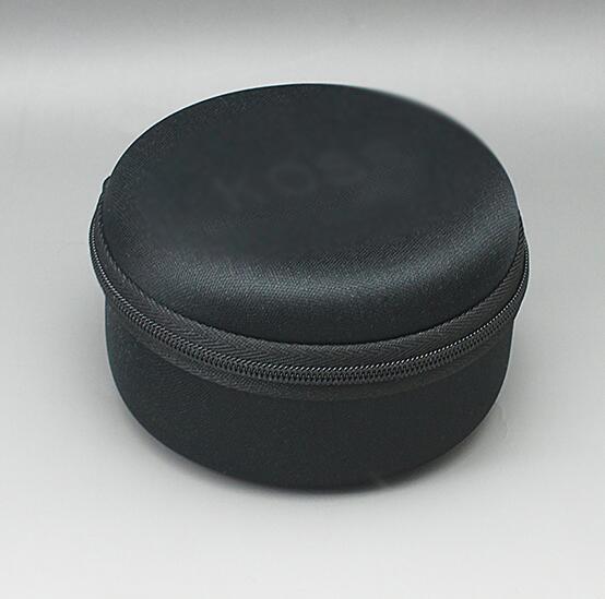 10cm*56cm Black headphones EVA carry storage bag Waterproof Shockproof Anti-Dust earphone Pouch for koss porta pro(China (Mainland))