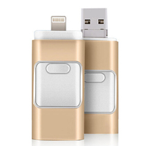 New Arrival i-flash drive 3 in 1 USB Flash Drive 8GB 16GB 32GB 64GB OTG For iphone 5/5s/6/6s/plus Mirco otg for ipad / android(China (Mainland))
