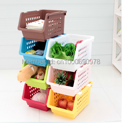 Hot selling fruit and vegetables Storage Holders & Racks fruit and vegetable plastic basket(China (Mainland))