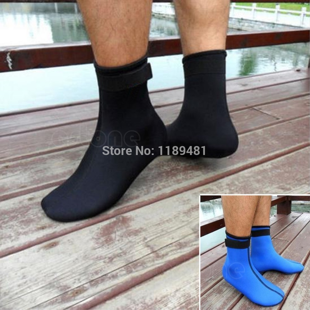 F85 Free Shipping Neoprene 3mm Water Sports Swimming Scuba Diving Surfing Socks Snorkeling Boots<br><br>Aliexpress