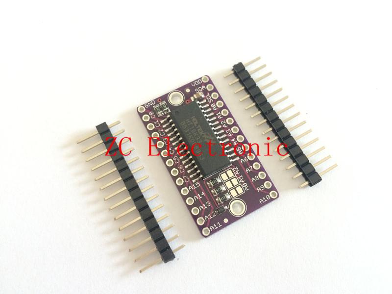 HT16K33 LED Dot Matrix Drive Control Module Digital Tube Driver development board(China (Mainland))