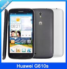 Muti language Original Huawei G610s G610 Quad Core Mobile Phone MTK6589M 1.2GHZ 5.0''1GB RAM 5MP android4.2 GPS WIFI(China (Mainland))