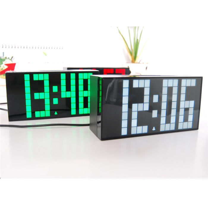 CH KOSDA Digital LED Alarm Clock Mini Small LED Clock Table Wall Clock Bedroom Living Room Thermometer Snooze Date Calendar New(China (Mainland))