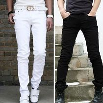 Male trousers 2013 trend male fashion slim harem pants spring white casual boys - shao qing's store