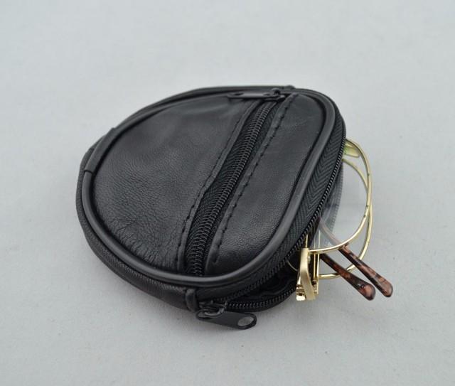 Mini Men's genuine Leather Waist Belt Loops Bag Coin Pocket Case Wallet  (3)