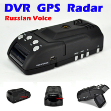 New 2013 Car Radar DVR GPS Russia Voice Support X-Band k k-band KA-Band Laser Free shipping(China (Mainland))