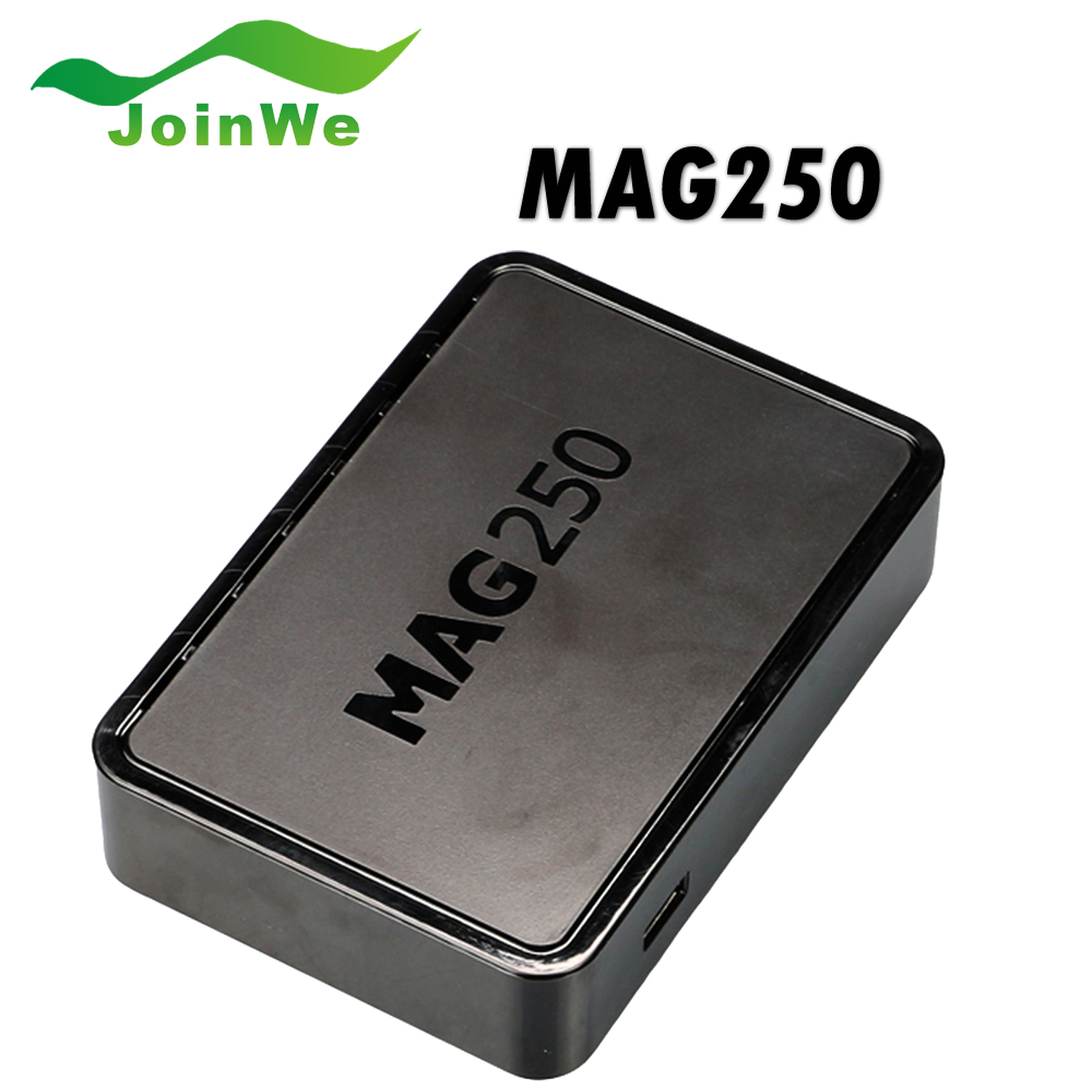 Best Linux mag250 IPTV box , Set Top Box support Wifi usb connector, Cable Not include IPTV account Mag 250 tv set top box(China (Mainland))