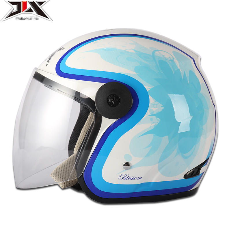 Anti-rattle fashion abs colorful motorcycle helmet for women half face motocross helmet for summer Capacete Casco motocicleta(China (Mainland))