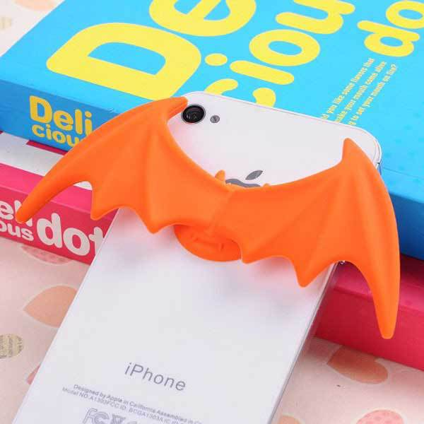 Altama Soft Silicone Mini Bat Wings Sucker Stand For iPhone Cellphone(China (Mainland))