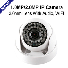 Buy CMOS HD 720P 1080P IP Camera Audio WIFI Optional IR 20M NightVision 3.6mm Lens 1MP 2.0MP Security CCTV Camera Indoor for $16.99 in AliExpress store