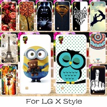 Buy DIY Soft Silicon Mobile Phone Case Cover LG X Style K200DS X Skin F740L 5.0 inch Shield Back Covers Shell Housing Hood for $1.28 in AliExpress store