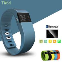 TW64 Bluetooth 4.0 Fitness Activity Tracker Smart Band Wristband Pulsera Inteligente Smart Bracelet Not Fit bit Flex Fit Bit ios