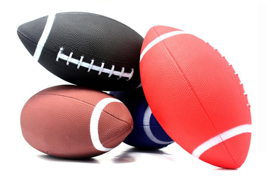 Outdoor Sports Official Rubber American Football Rugby Ball Children's Size 6 Beach Kids Rugby Ball For Training Free Shipping(China (Mainland))