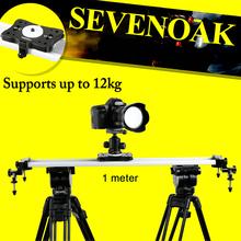 Buy Sevenoak SK-HD100 Aluminum Cam Slider Steadycam Canon 5D MarkII 7D 60D 500D-550D Nikon D3100 D7000 A55 A35 A99 Gopro for $189.95 in AliExpress store