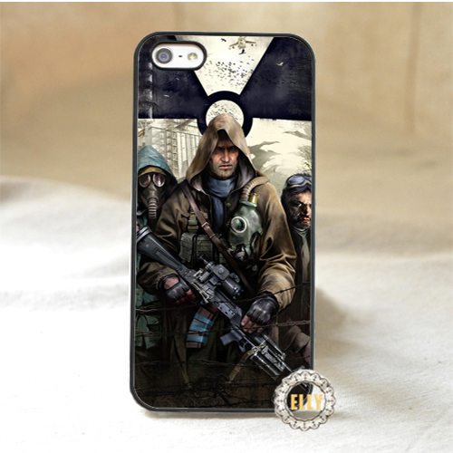 s.t.a.l.k.e.r. fashion mobile phone case cover for iphone 4 4s 5 5s 5c 6 6 plus 6s 6s plus *pH528(China (Mainland))