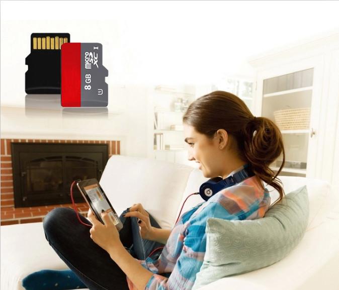 Гаджет  Hot sale  class 10 Microsd TF card+ Adapter  Memory card Micro SD card 32G Memory cards 8G 16GB 32GB T1 None Компьютер & сеть