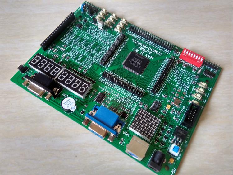 Free shipping ALTERA cpld development board cpld altera EPM570T144C5N development cpld board(China (Mainland))