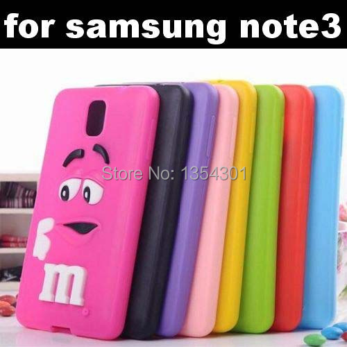 3D Cartoon Cute Aromatic Smell Case/Cases Samsung Galaxy note 3 N9000 Soft Silicon note3 Skin Back Cover Shell Protector - IRS Trading Co.,Ltd store