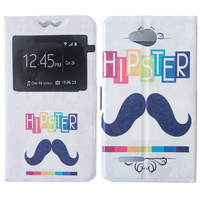Case Cover For Allview P6 Life ,PU Leather pattern Flip 14 Styles Elegant Luxury Moustache Butterfly Girl Flower Cartoon