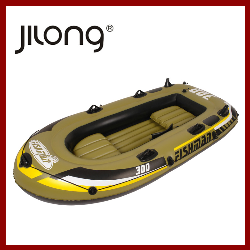 Rowboat Dinghy thickened 2 3 4 assault kayak fishing boat inflatable rubber hovercraft rescue(China (Mainland))
