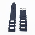 2016 Hot Universal Rubber Silicone Link Bracelet Wrist Strap 22mm 24mm Watchband Fit For Apple Watch