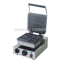 Бесплатная доставка DHL 1 шт. FY-218 220 В электрический вафельница вафли пекарь плед торт печь Sconced машина отопление машина