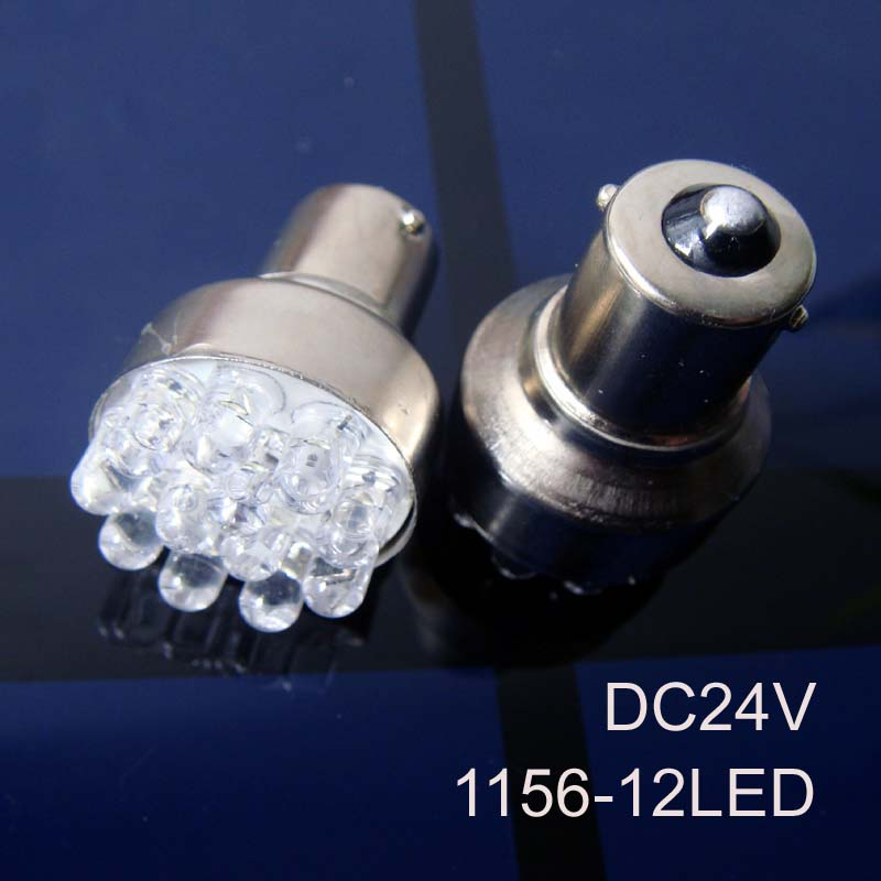 High quality 24v BA15s BAU15s PY21W P21W S25 1141 1156 Truck Freight Car Goods Van Led Rear Lamp Light free shipping 50pcs/lot(China (Mainland))