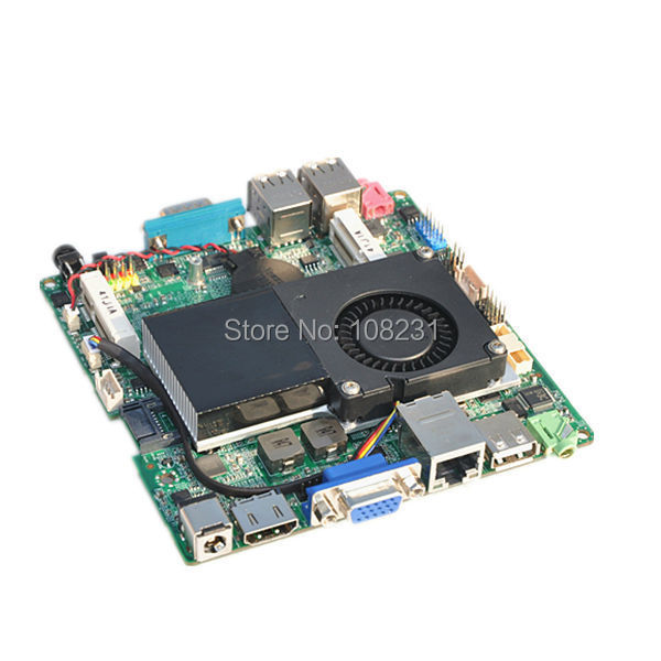 12 X 12 CM Mini ITX motherboard Q1037UN with Celeron 1037U processor onboard, dual core 1.8 GHz, support win7/8/10/linux OS(China (Mainland))