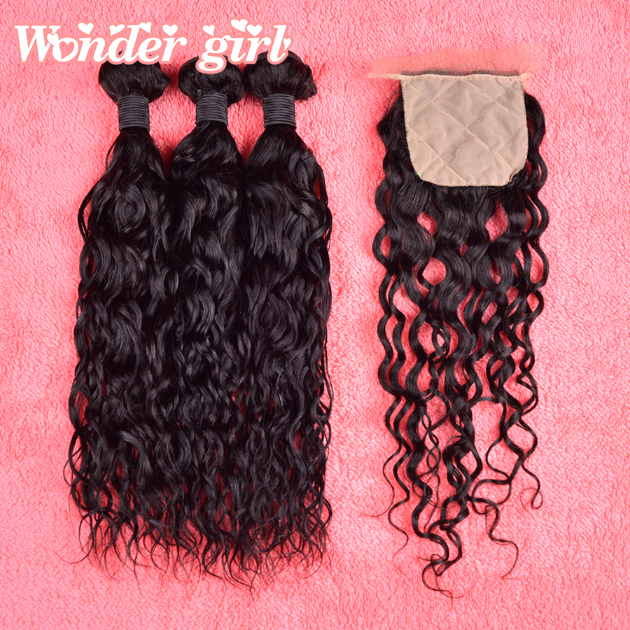 Best Peruvian Natural Wave With Silk Base Closure Unprocessed Peruvian virgin hair with closure Cheap peruvian curly hair soft<br><br>Aliexpress