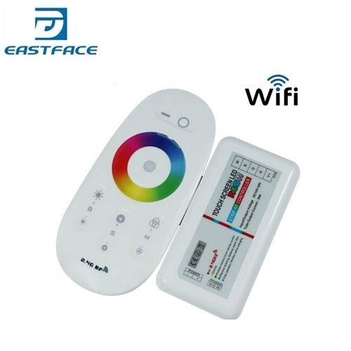 RF Wireless Touching RGBW 4 Channel Controller For RGBW Led Strip 12V/24V Smartphone or Tablet WiFi Compatible